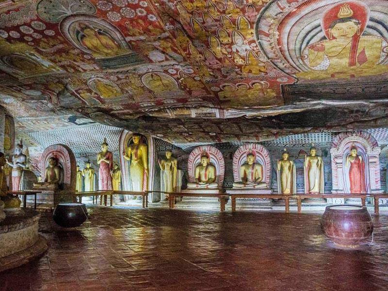 Dambulla Cave Temple Paintings